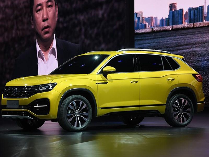 Volkswagen показал два кроссовера для России