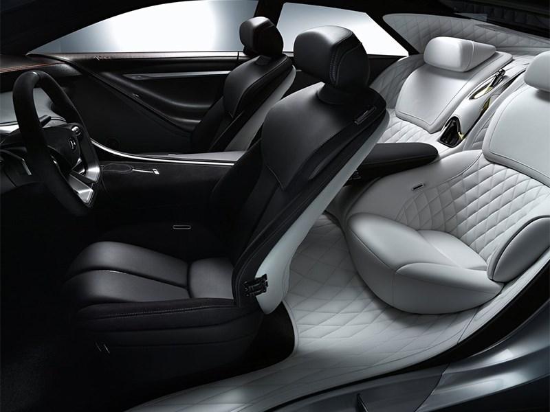 Infiniti Q80 Inspiration concept 2014 передние кресла