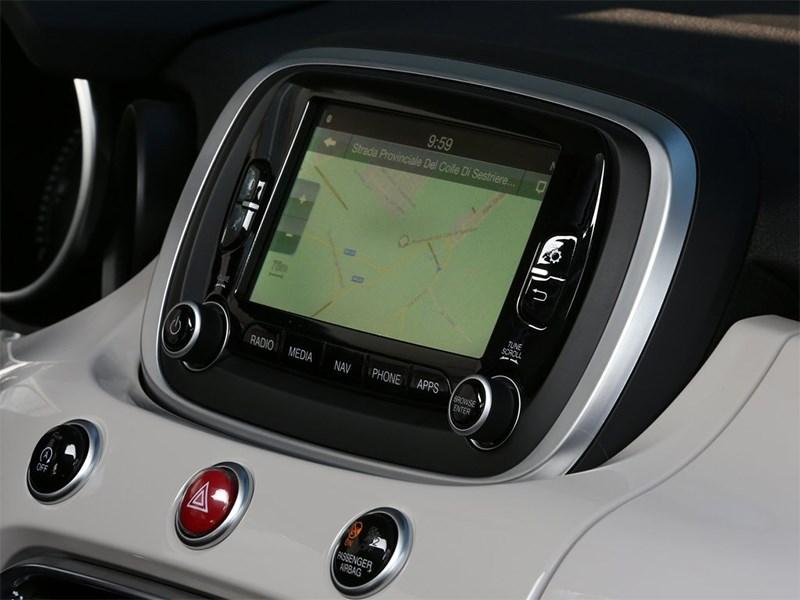 Fiat 500X 2015 монитор