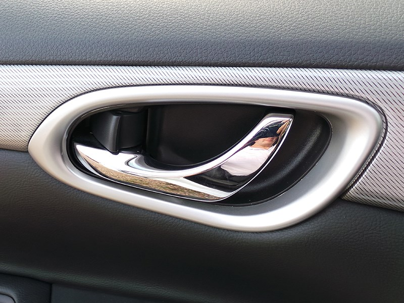 Nissan Sentra 2013 ручка двери