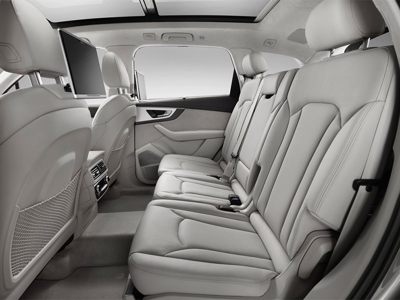Audi Q7 2015 задний диван