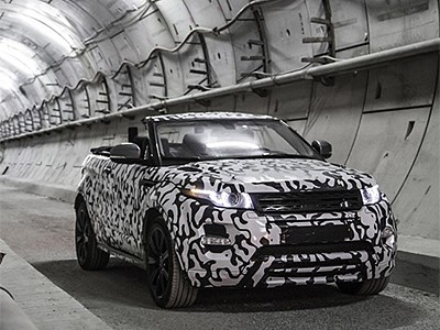 Открытая версия Land Rover Evoque рассекречена незадолго до дебюта