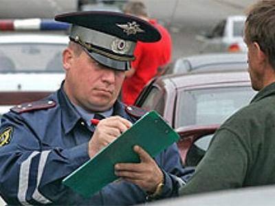 Сумма штрафов московских водителей в 2014 году достигла почти 1 млрд рублей