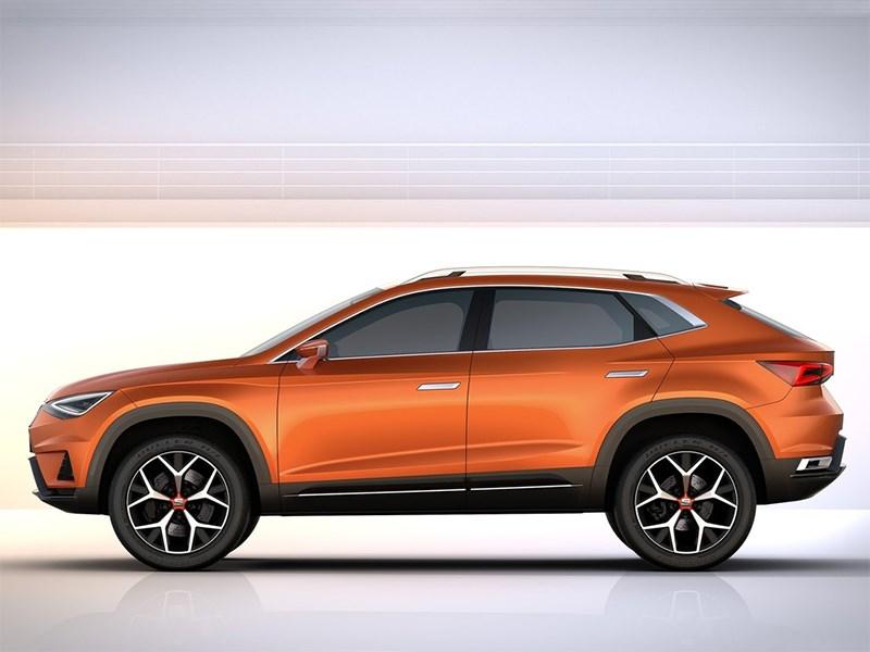 Seat 20V20 Concept 2015 вид сбоку