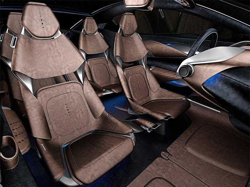 Aston Martin DBX Concept 2015 передние кресла