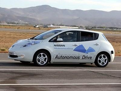 Беспилотные автомобили Nissan появятся уже в 2020 году