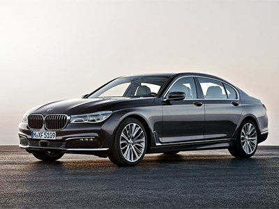 Серийный BMW 7-series нового поколения встал на конвейер