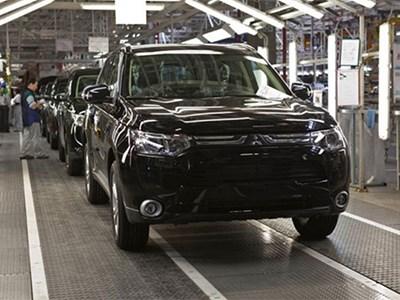 Mitsubishi выпускает в Калуге все меньше своих автомобилей