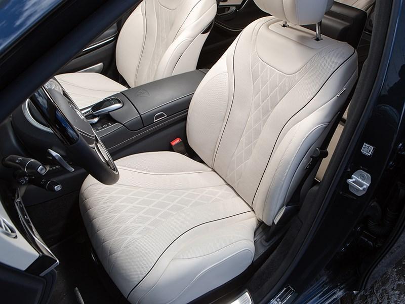 Mercedes-Maybach S 500 2015 передние кресла