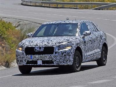 В Европе начались дорожные испытания компактного кроссовера Audi Q1