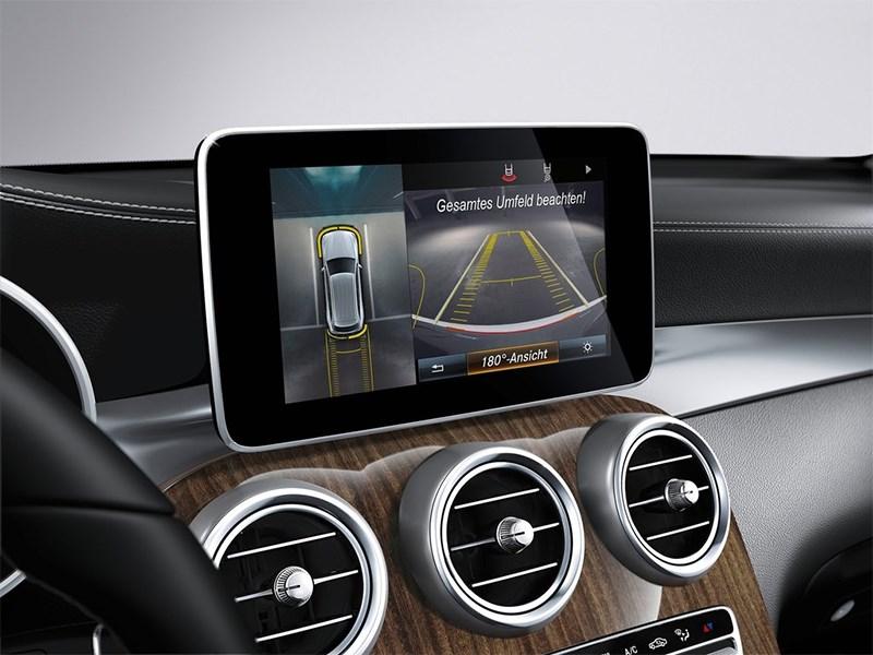 Mercedes-Benz GLC 2016 монитор
