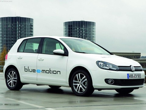 Volkswagen готовит электрический Golf VII