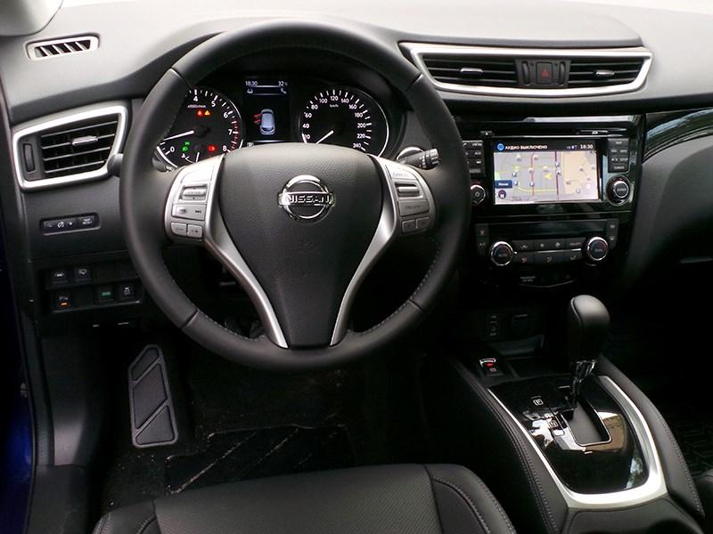 Nissan Qashqai 2014 водительское место