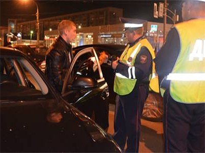 Шувалов приказал отлавливать пьяных водителей