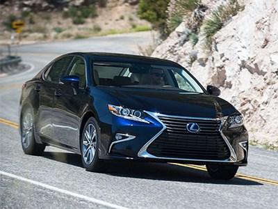 Стартовал прием заказов на обновленный Lexus ES