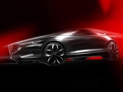 Премьера концептуального кросс-купе Mazda Koeru состоится уже на следующей неделе