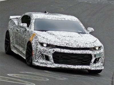 Самая мощная версия Chevrolet Camaro в истории уже проходит испытания на трассе