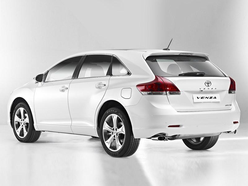Toyota Venza появилась в России