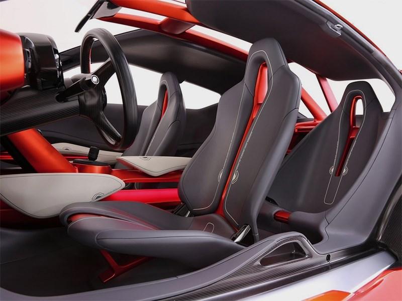 Nissan Gripz Concept 2015 передние кресла