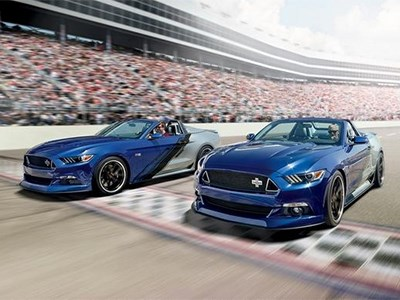 К Рождеству Ford изготовил сотню эксклюзивных кабриолетов Mustang