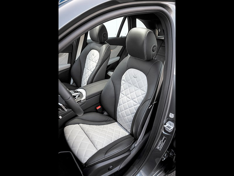 Mercedes-Benz GLC 2016 передние кресла