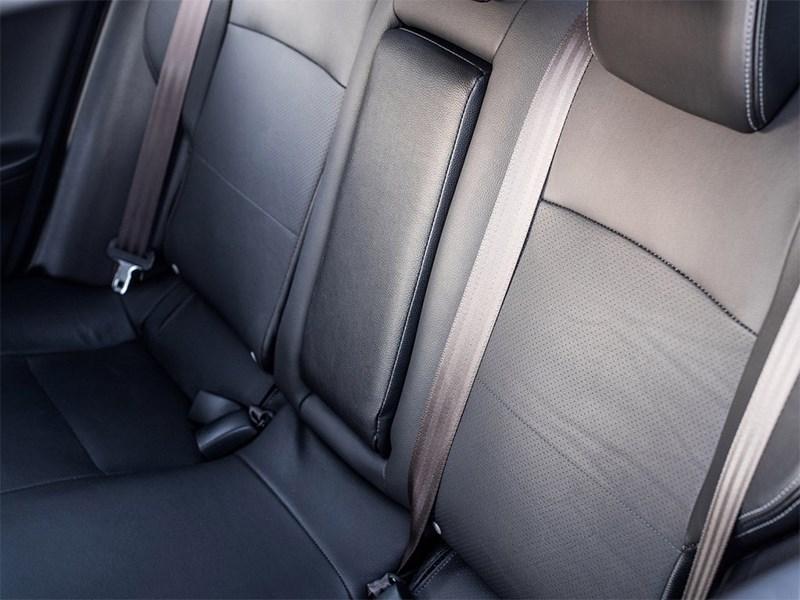 Mitsubishi Lancer GT 2016 задний диван