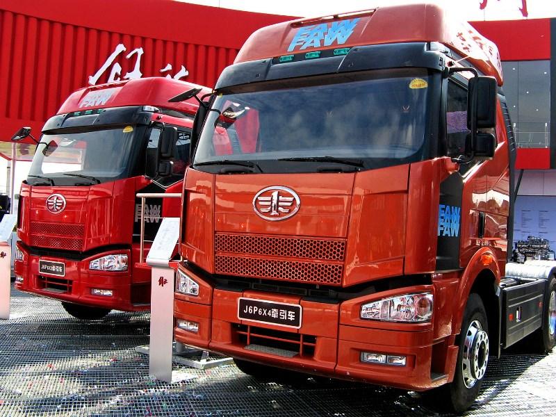 FAW планирует организовать серийное производство своих грузовиков в РФ