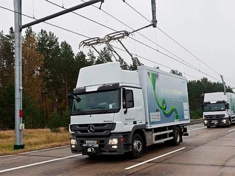 К 2016 году в Швеции построят электрифицированную автостраду для грузового транспорта