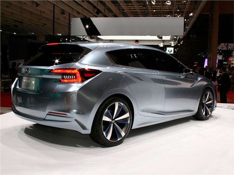 Subaru Impreza 5-Door concept 2015 вид сбоку сзади