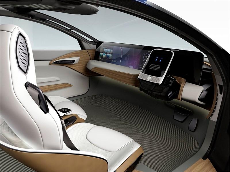 Nissan IDS concept 2015 салон