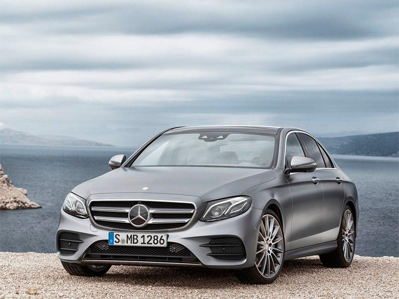 Mercedes назвал рублевые цены на новое поколение E-класса