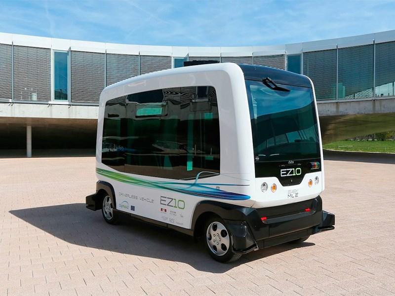 В Нидерландах прошли испытания беспилотных автобусов