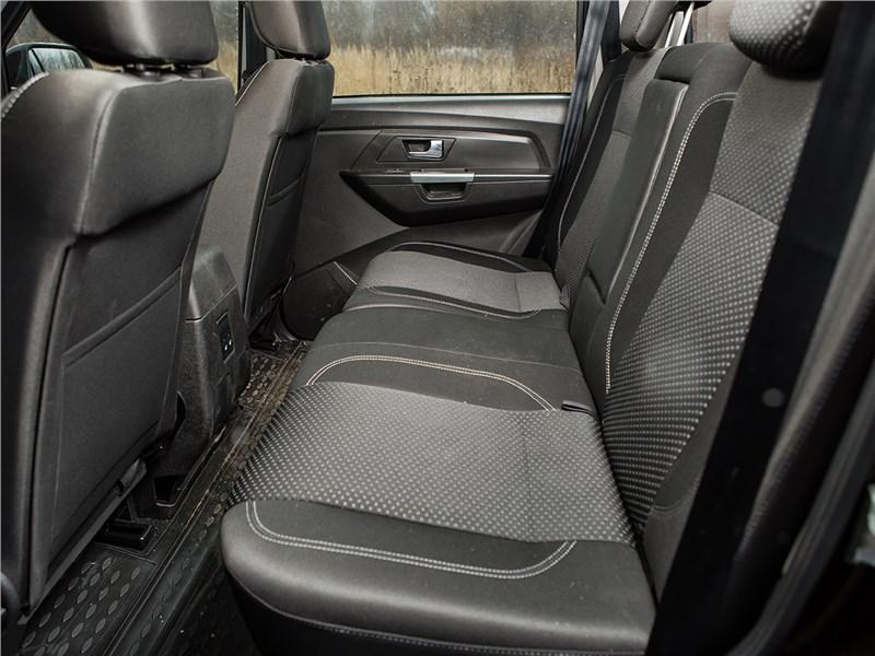 UAZ Pickup 2014 диван второго ряда