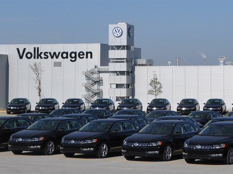 Volkswagen AG закончил февраль с 1,2-процентным падением