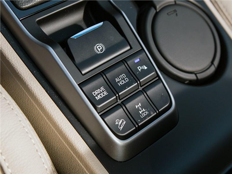 Hyundai Tucson 2016 управление приводом