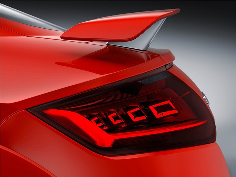 Audi TT RS Coupe 2017 антикрыло