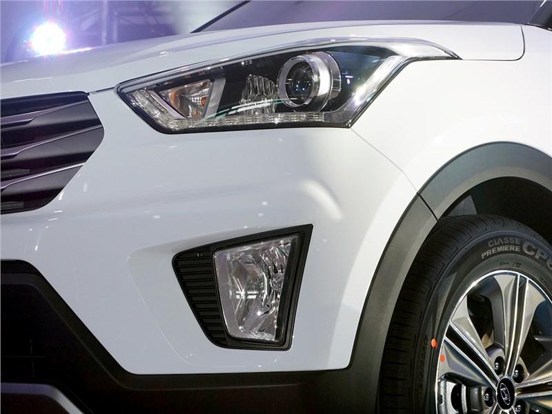 Hyundai Creta 2016 передний свет