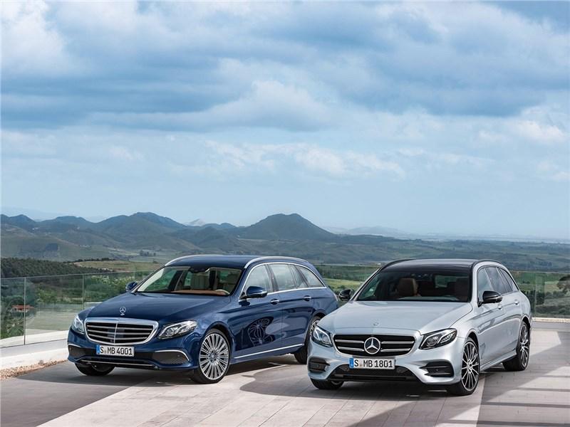 Mercedes-Benz E-Class Estate 2017 вид спереди