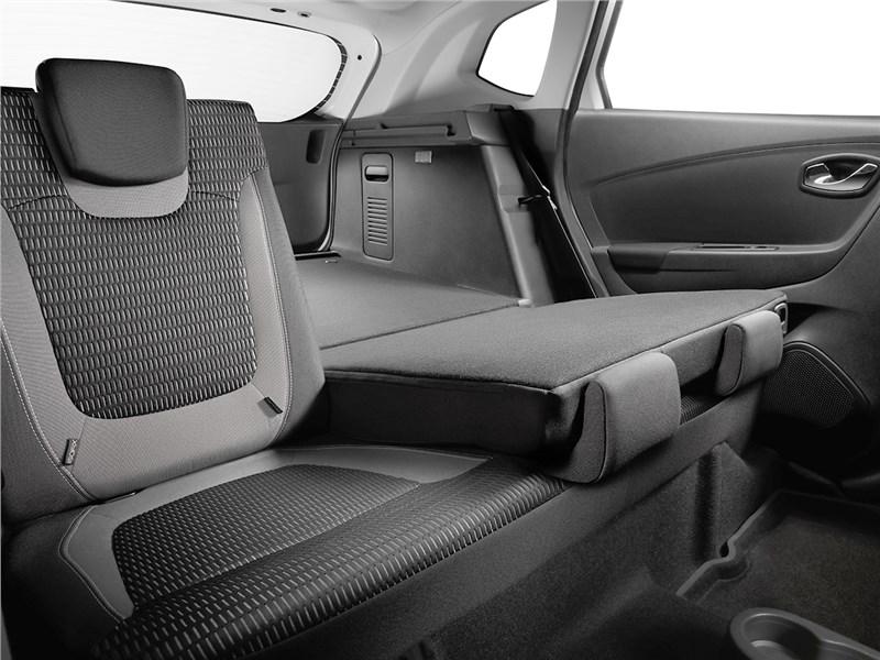 Renault Kaptur 2016 задний диван
