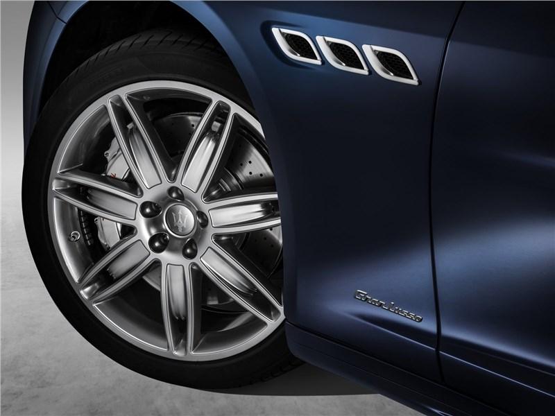 Maserati Quattroporte Gran Lasso 2017 переднее колесо
