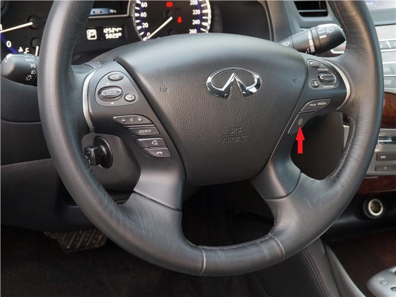 Infiniti QX60 2016 руль