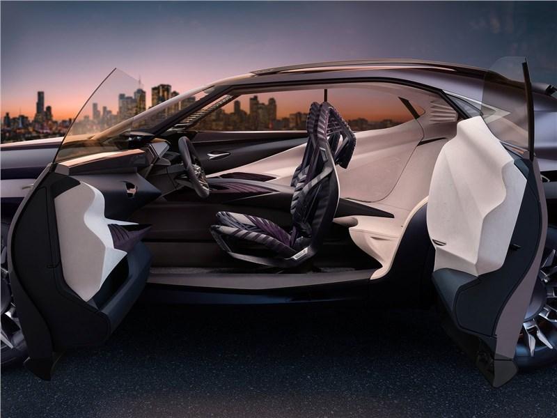 Lexus UX concept 2016 вид сбоку