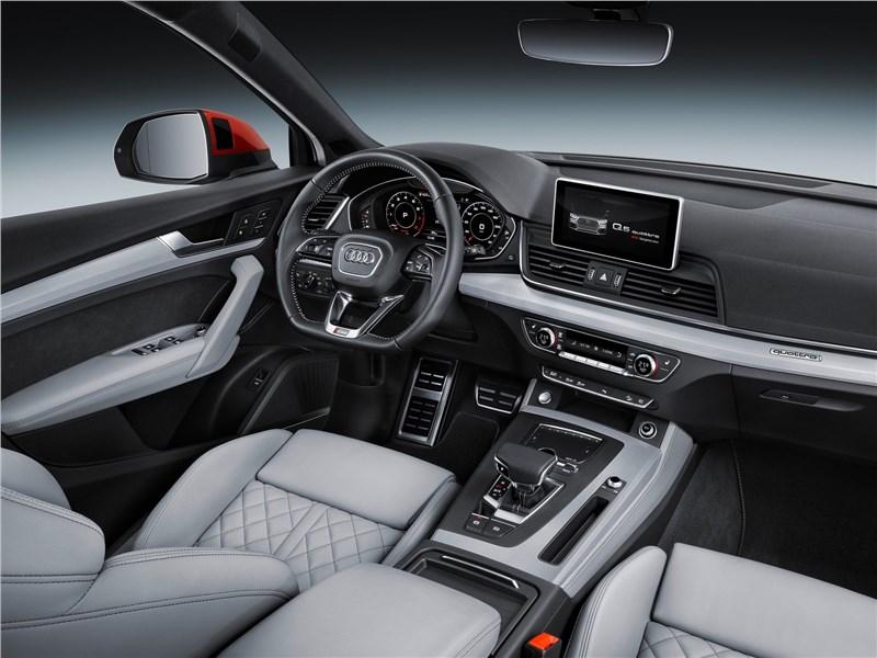 Audi Q5 2017 салон
