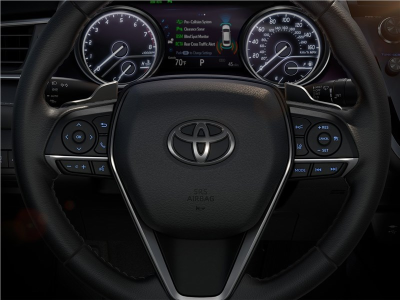 Toyota Camry 2018 приборная панель