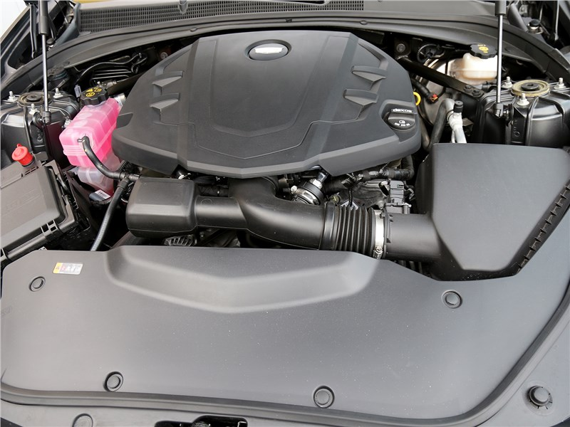 Cadillac CTS 2017 двигатель