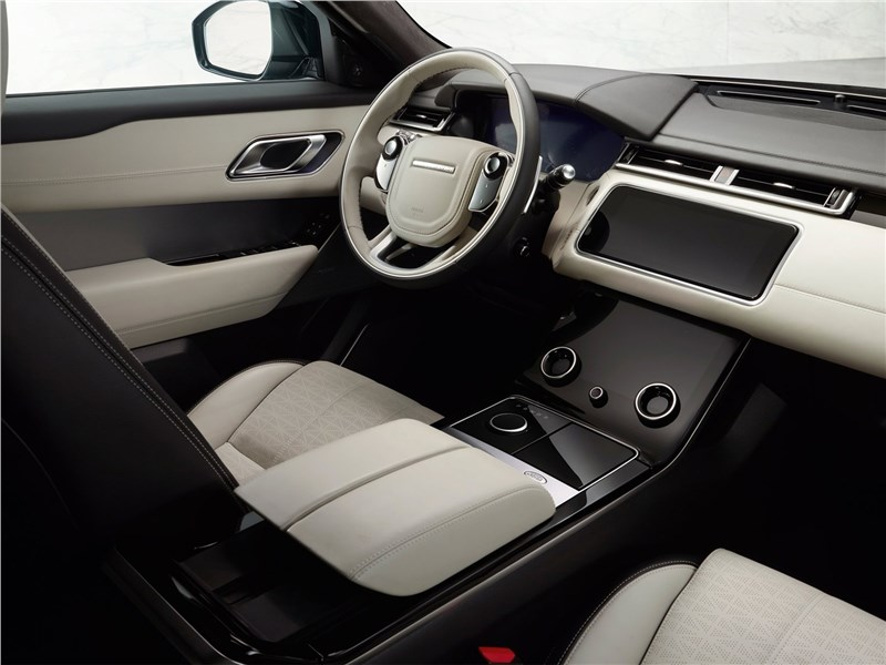 Land Rover Range Rover Velar 2018 салон