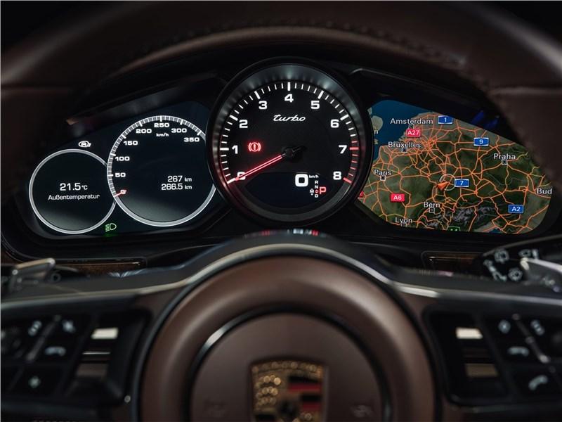Porsche Panamera Sport Turismo 2018 приборная панель