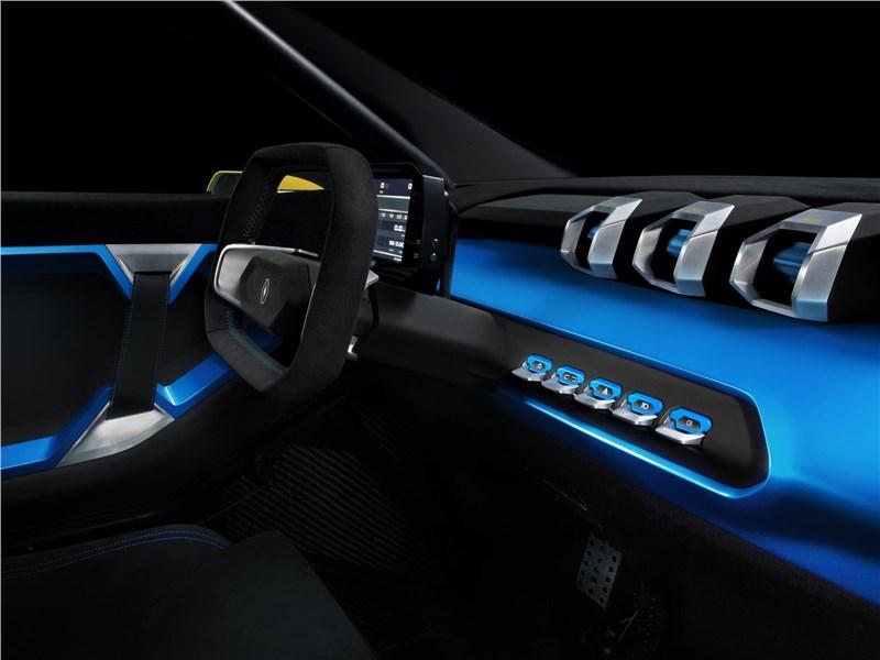 Renault Zoe e-Sport Concept 2017 салон