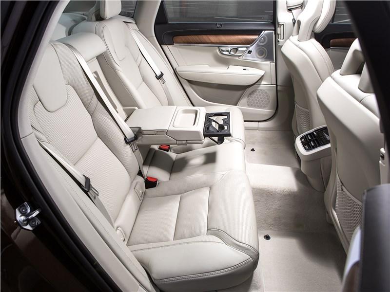 Volvo S90 2016 задний диван