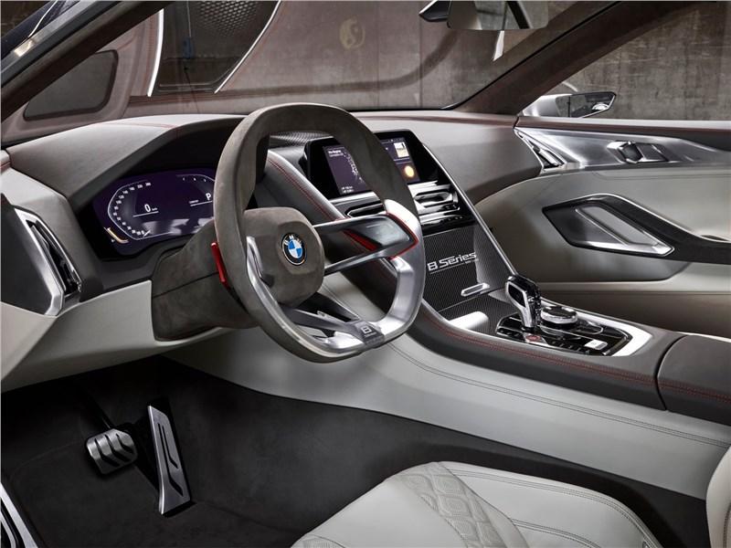 BMW 8-Series Concept 2017 салон